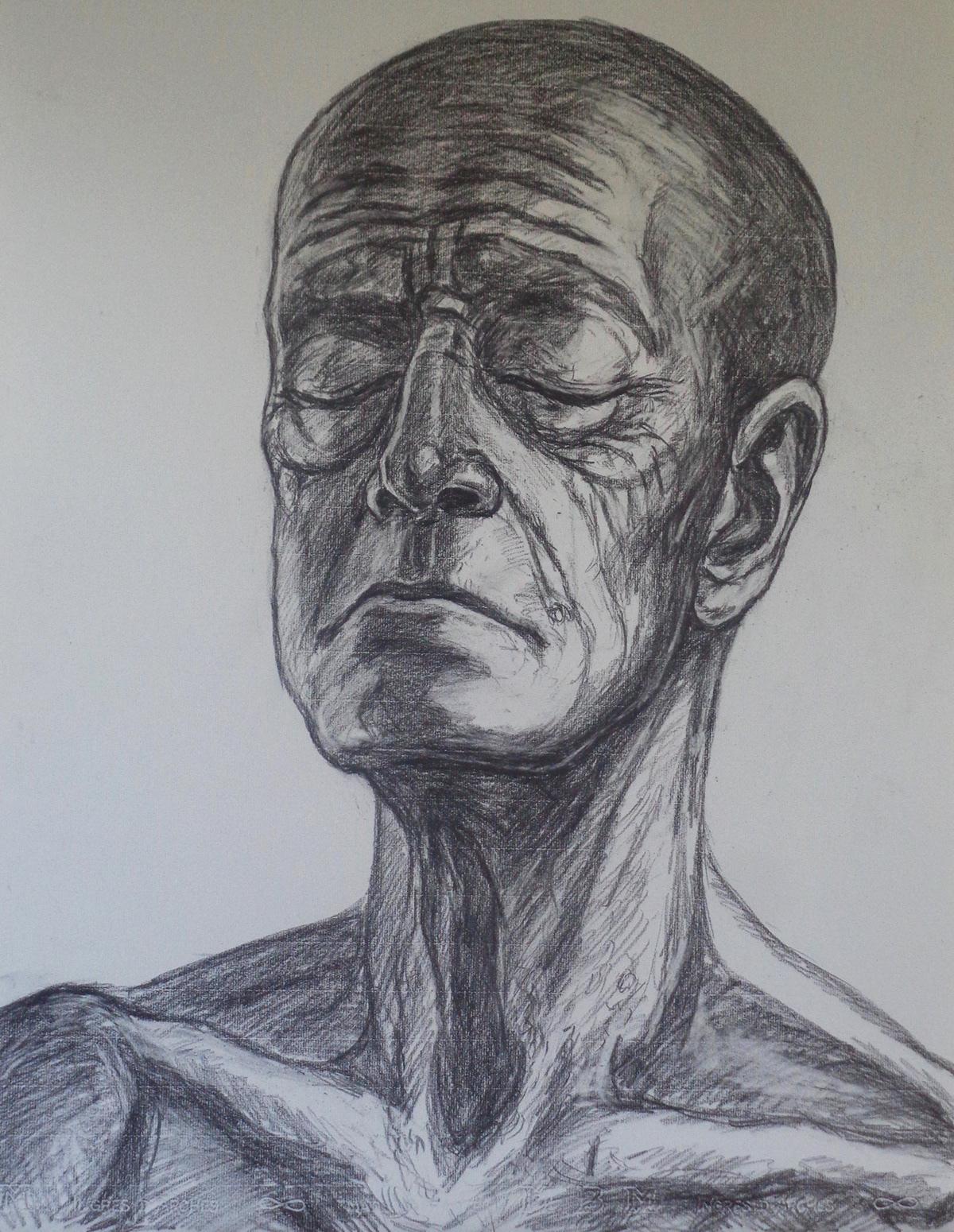 Pencil Portraits On Student Show