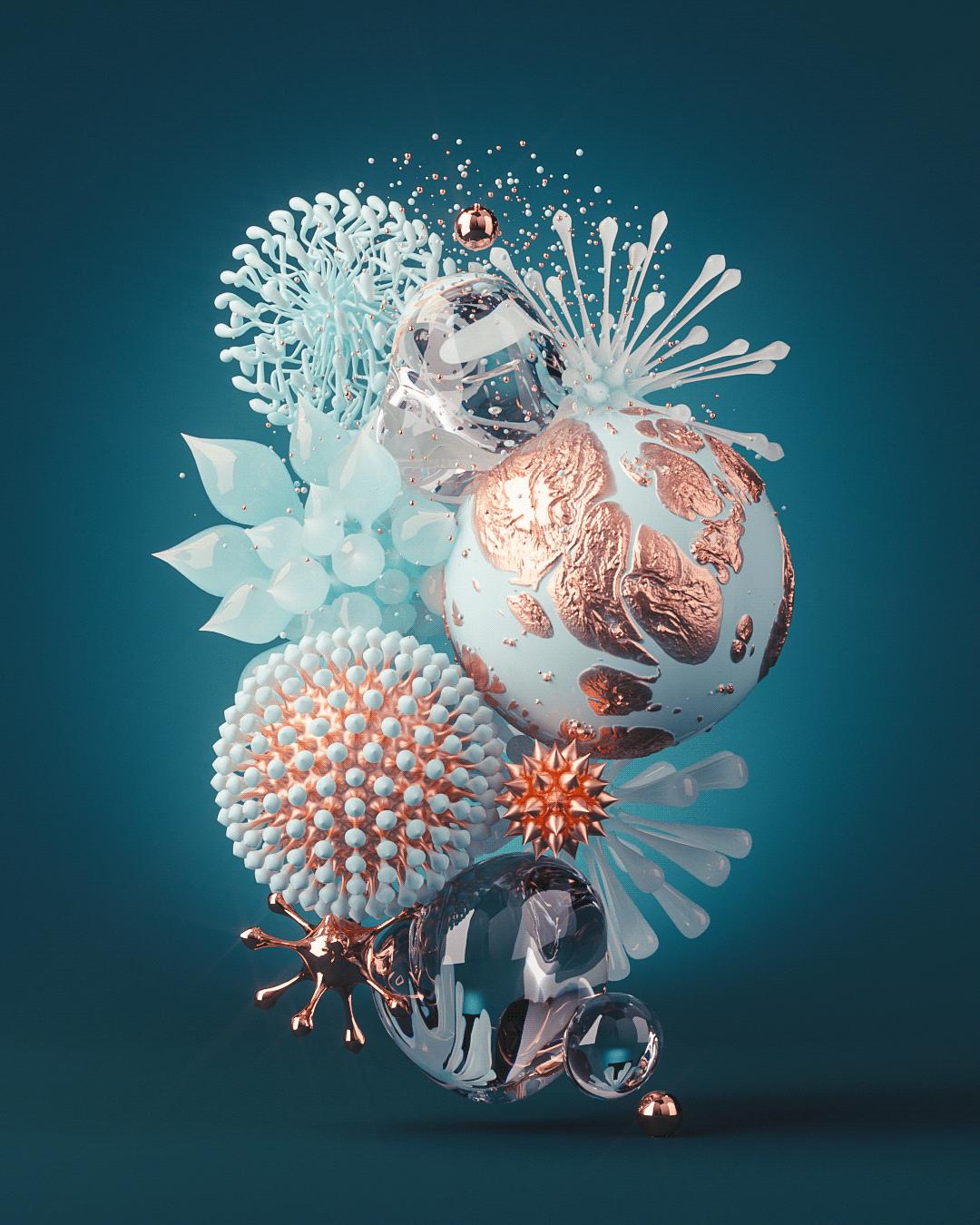 3D art design inspiration instagram personal sculpture Work