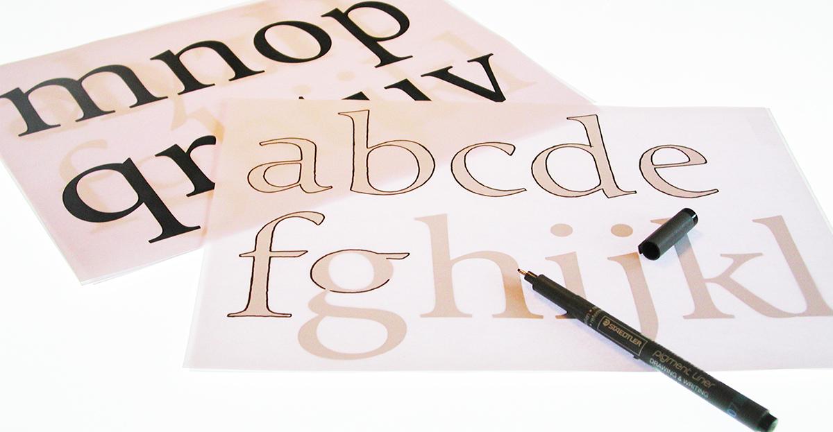 Typeface font free vinta vintage typedesign