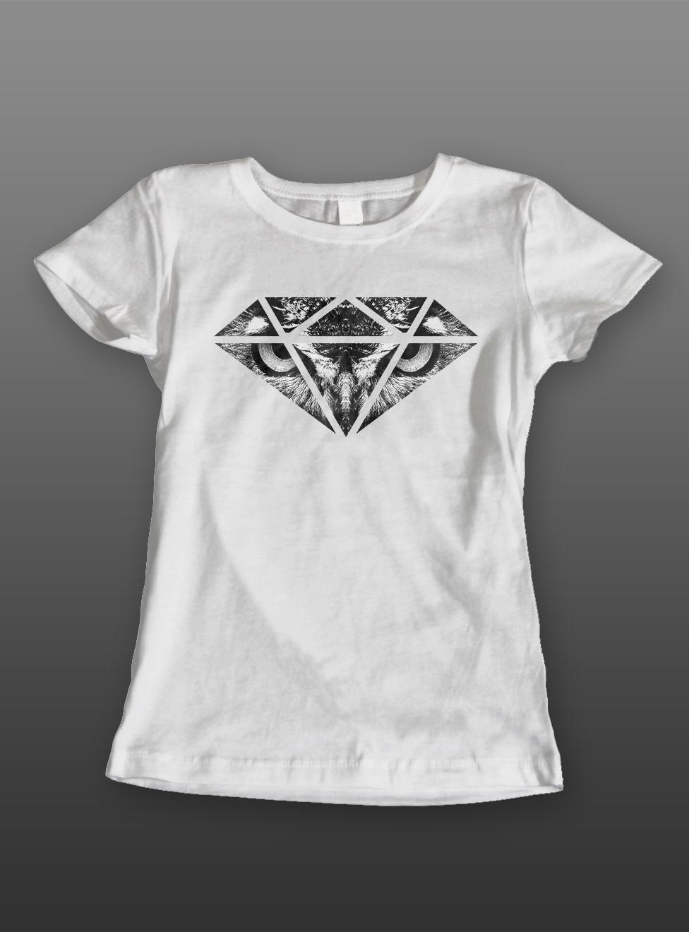 "BLACKND ""OWL DIAMOND"" T-SHIRT DESIGN on Behance"