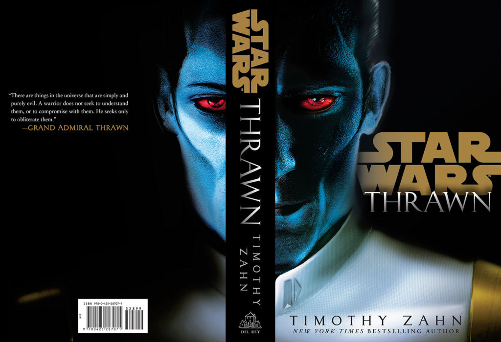 star wars thrawn book cover Lucasfilm penguin random house grand admiral thrawn Star Wars Rebels