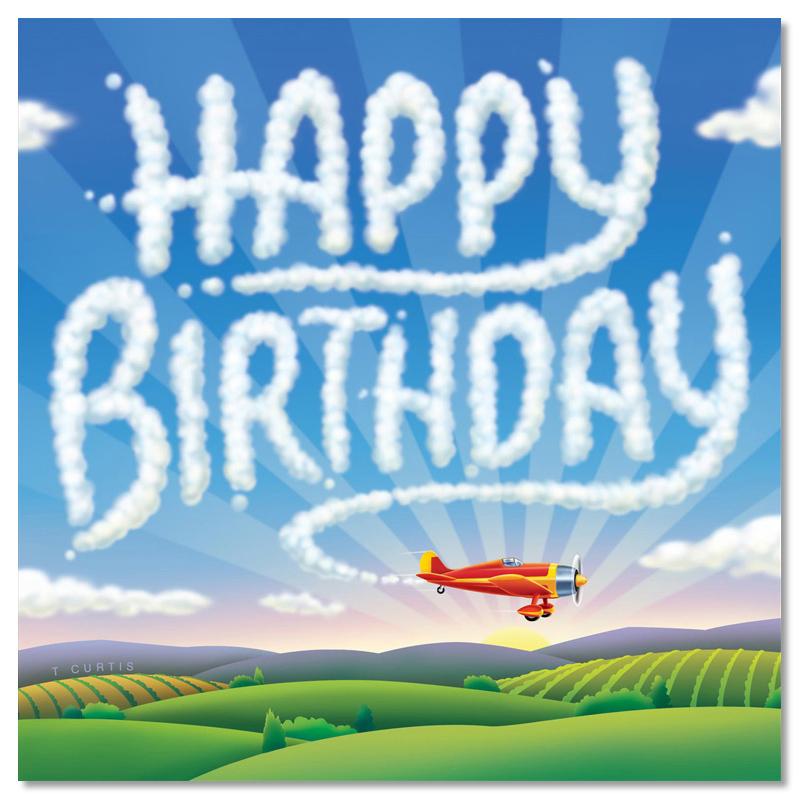 Открытка лётчику с днем рождения 5