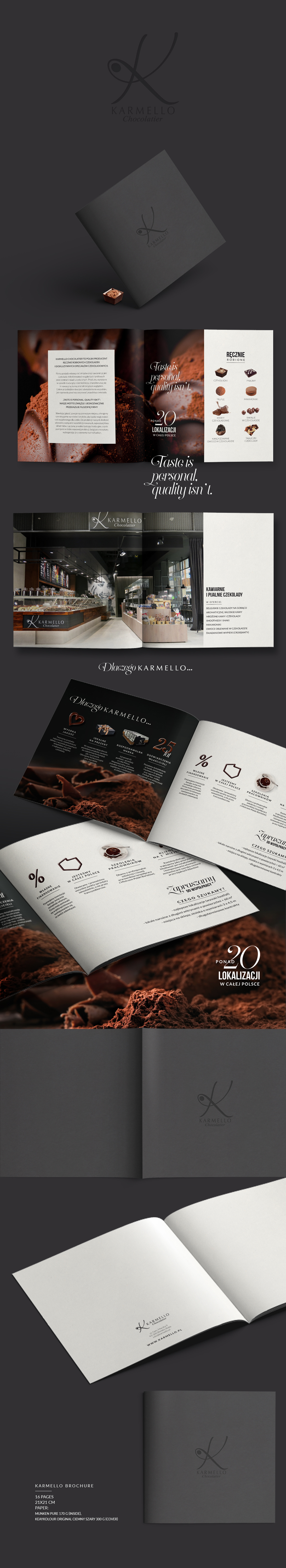 czekolada chocolate brochure sweet Catalogue Słodkie polska praliny