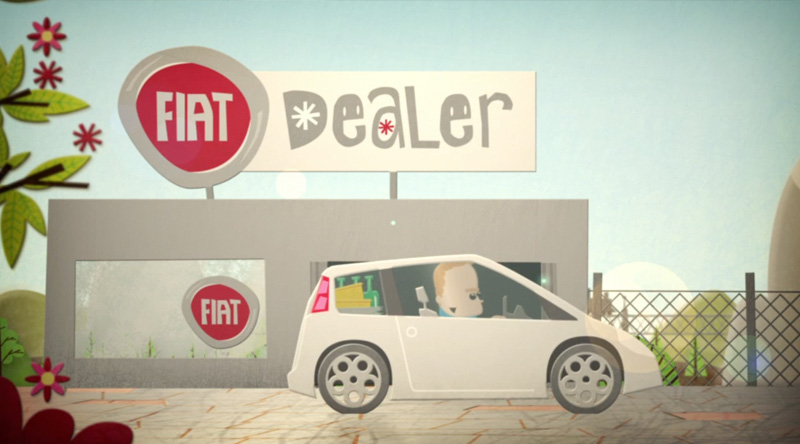 Fiat Drive For Good - Advertising on Behance