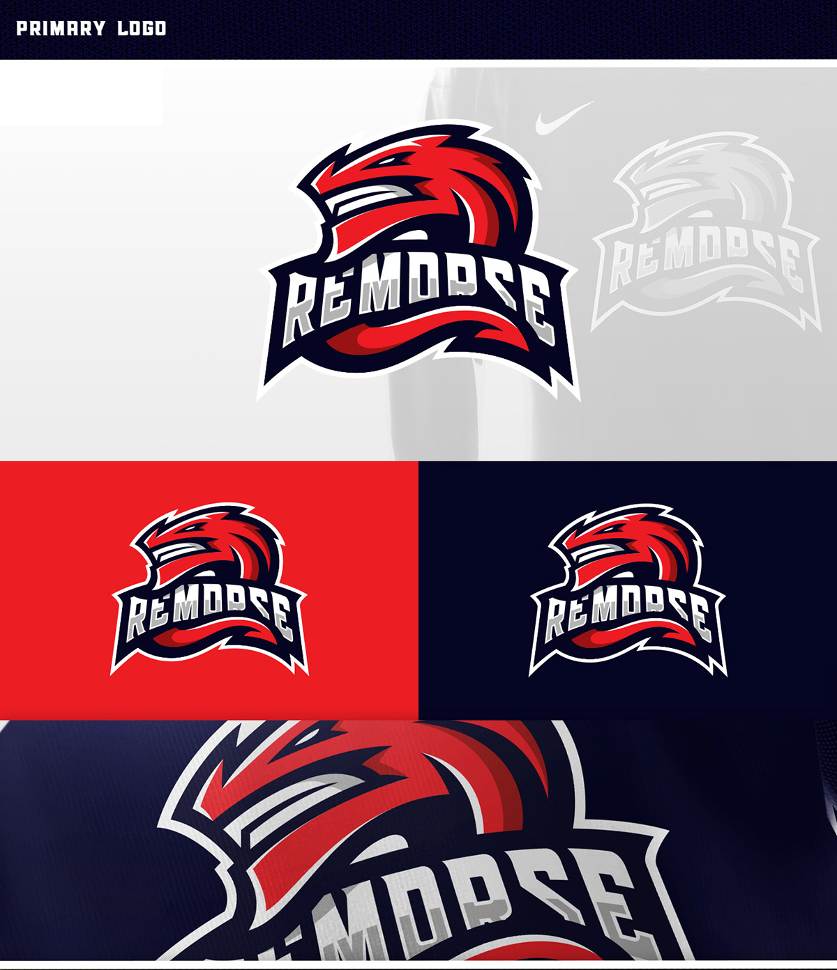 dragons sports logo on behance