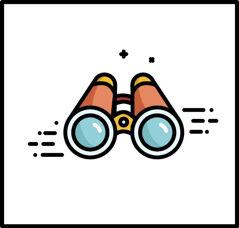 flat design outline logo avatar icons
