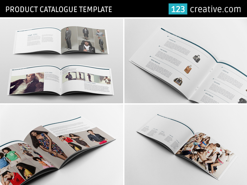 Product Catalogue Template Product Portfolio Layout On Behance - Product brochure template