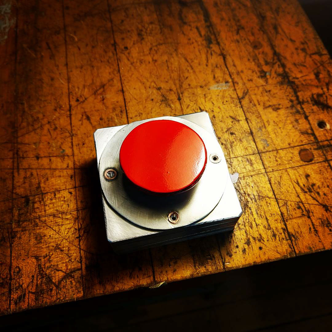 Metals I - Aluminum Plate Project: Panic Button on Behance
