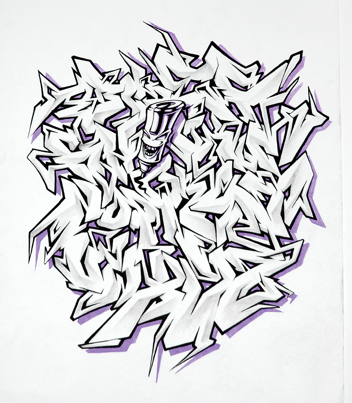 Graffiti Alphabets On Behance