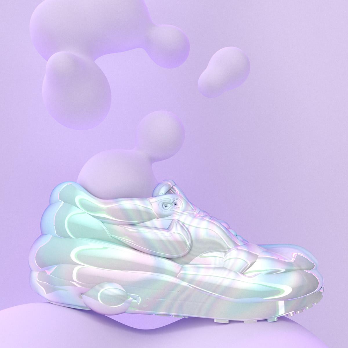 Nike Air Max Bubble Gum on Behance
