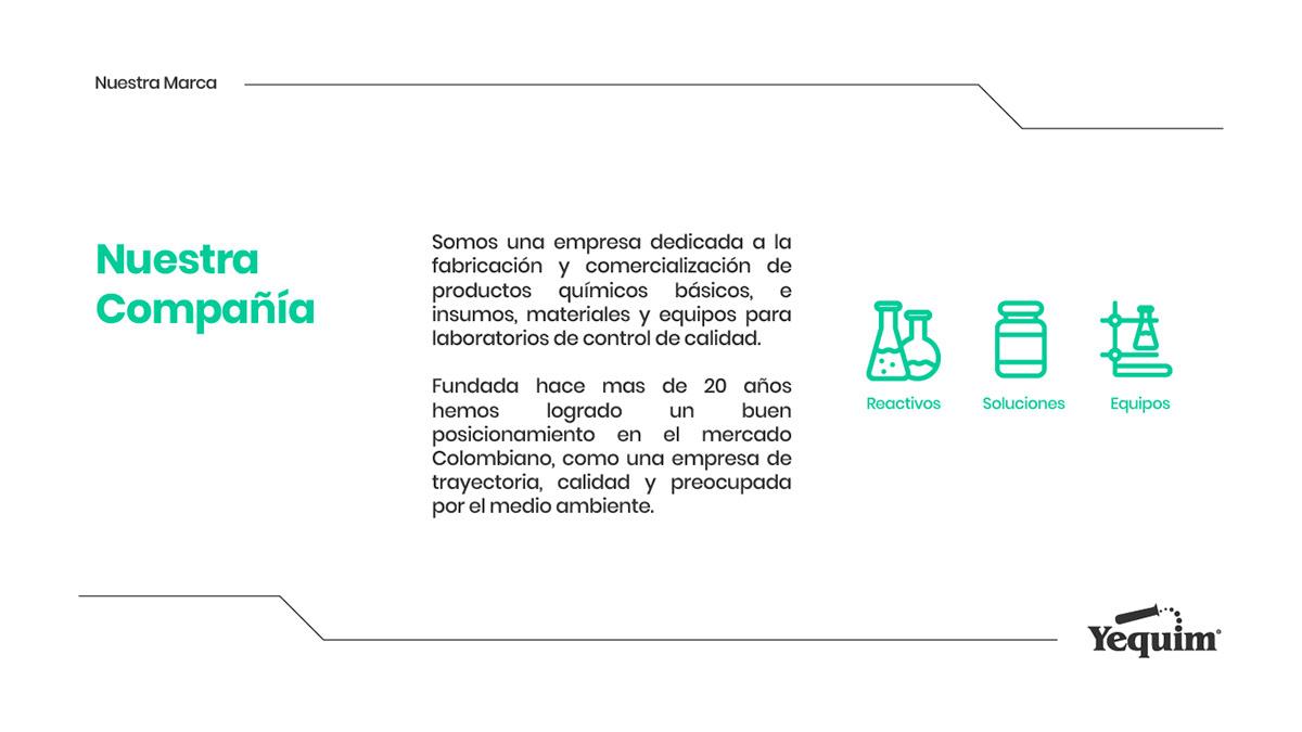 branding  scientific chemistry corporate