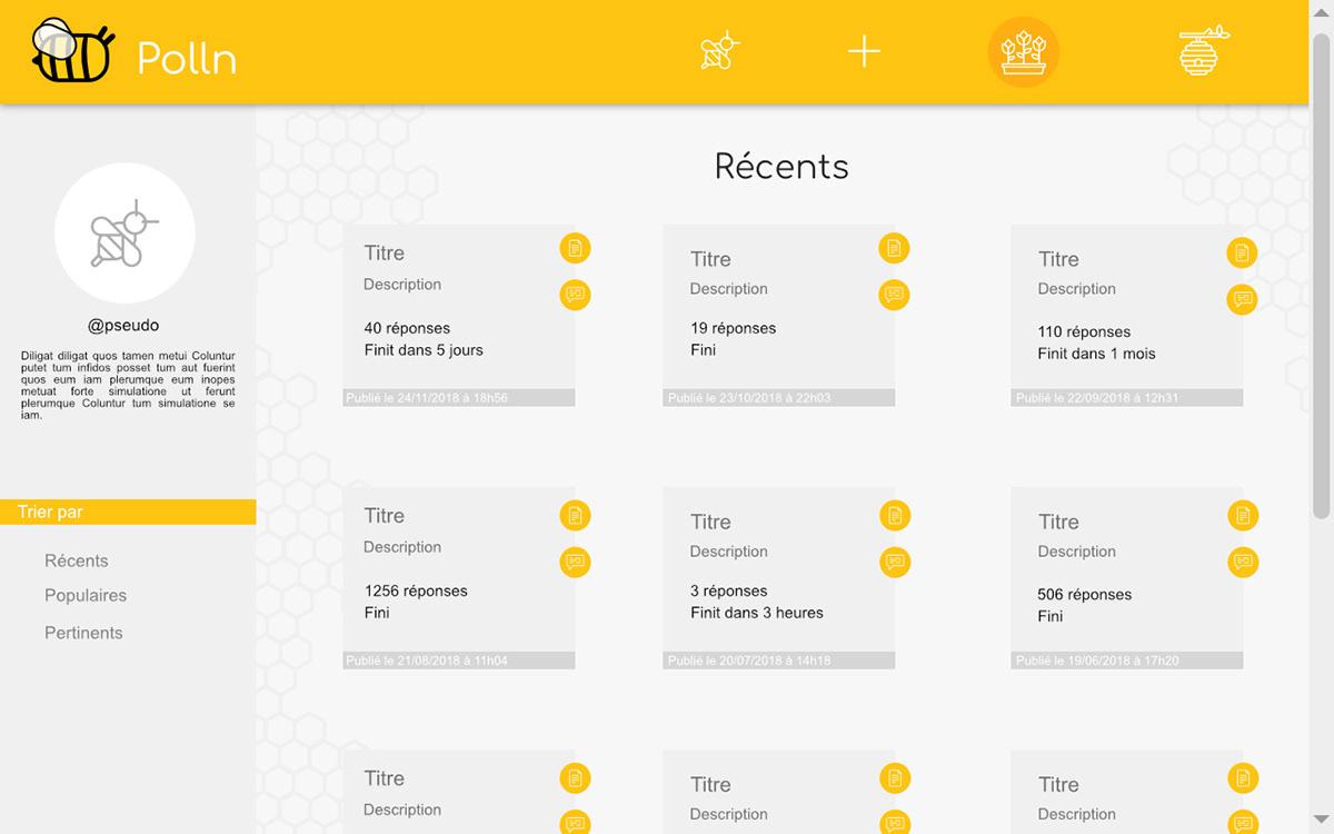 Webdesign UI ux design user Interface