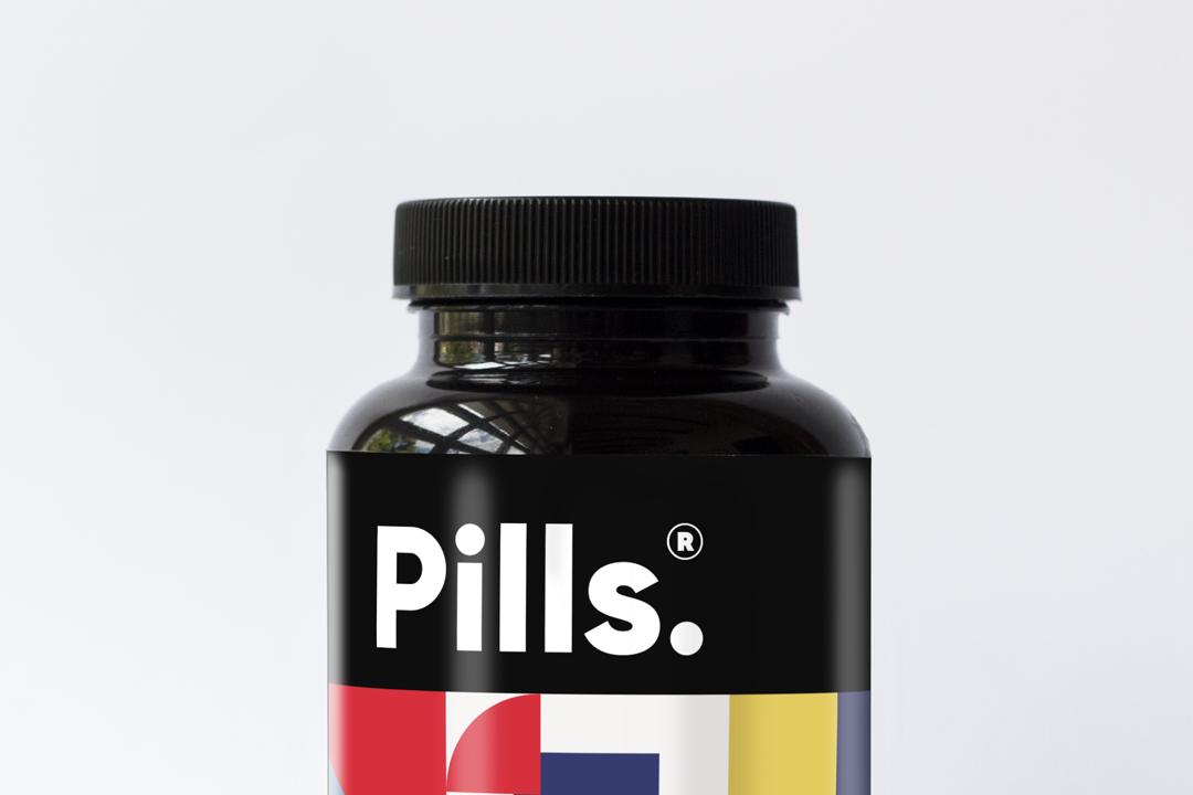Mockup pills Packaging graphicdesign freemockup packagingdesign vitamins supplements