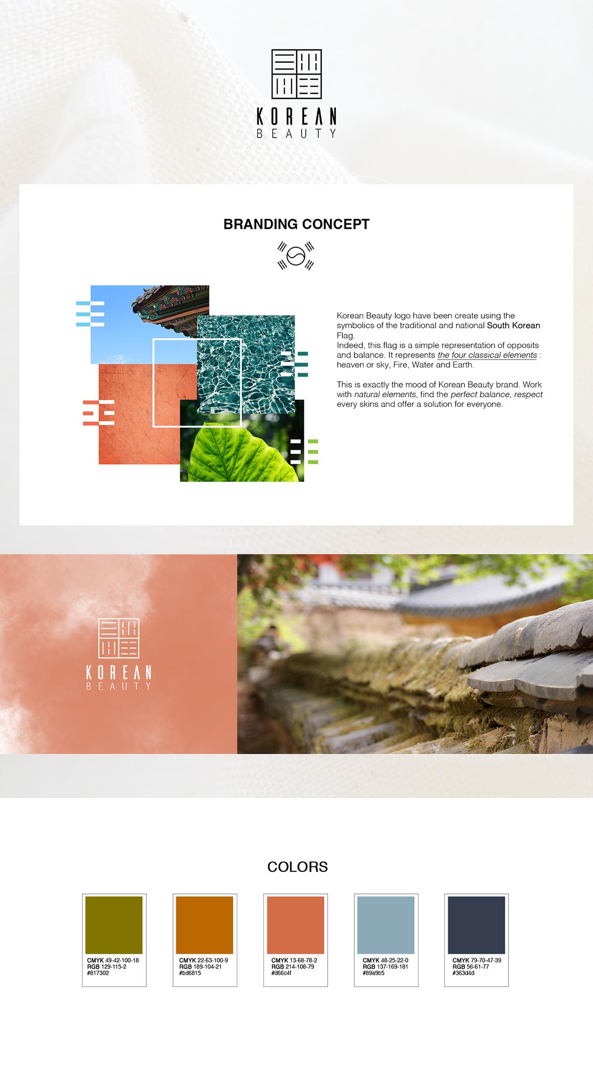 KOREAN BEAUTY - Branding, Packaging, Wedesign,    on Student