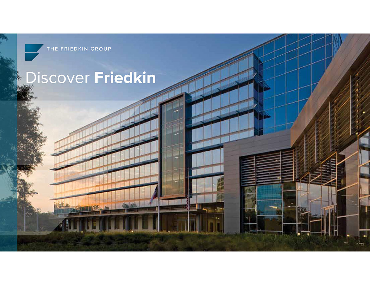 The Friedkin Group overview guide on Behance