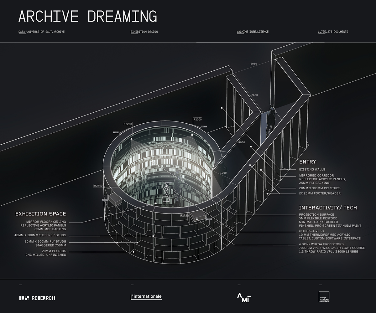 artificial intelligence machine learning interactive library Archive immersive video mapping projection mapping UI