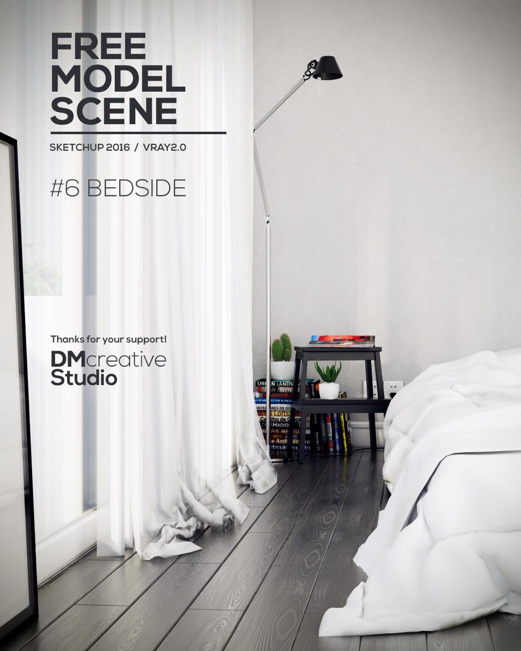 6 FREE MODEL SCENE BEDSIDE on Behance