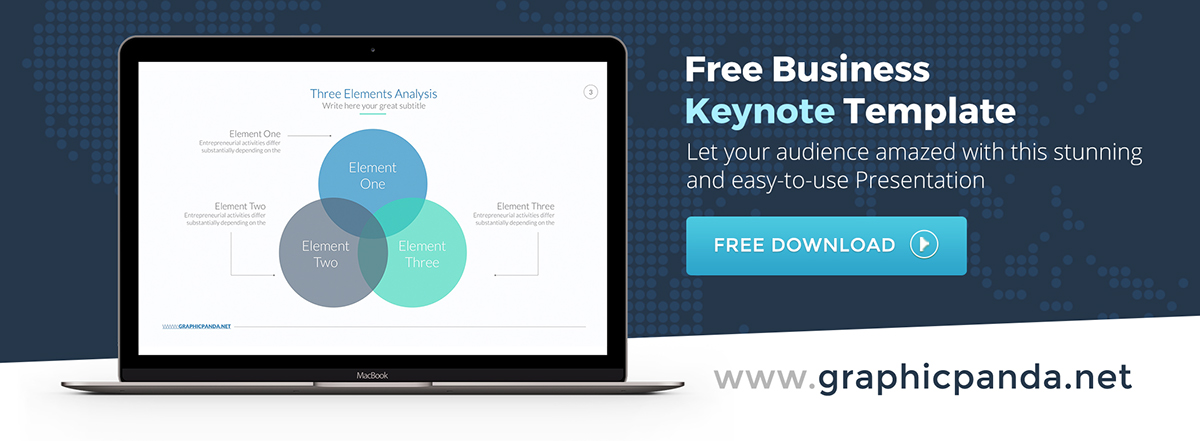 free business keynote template on behance