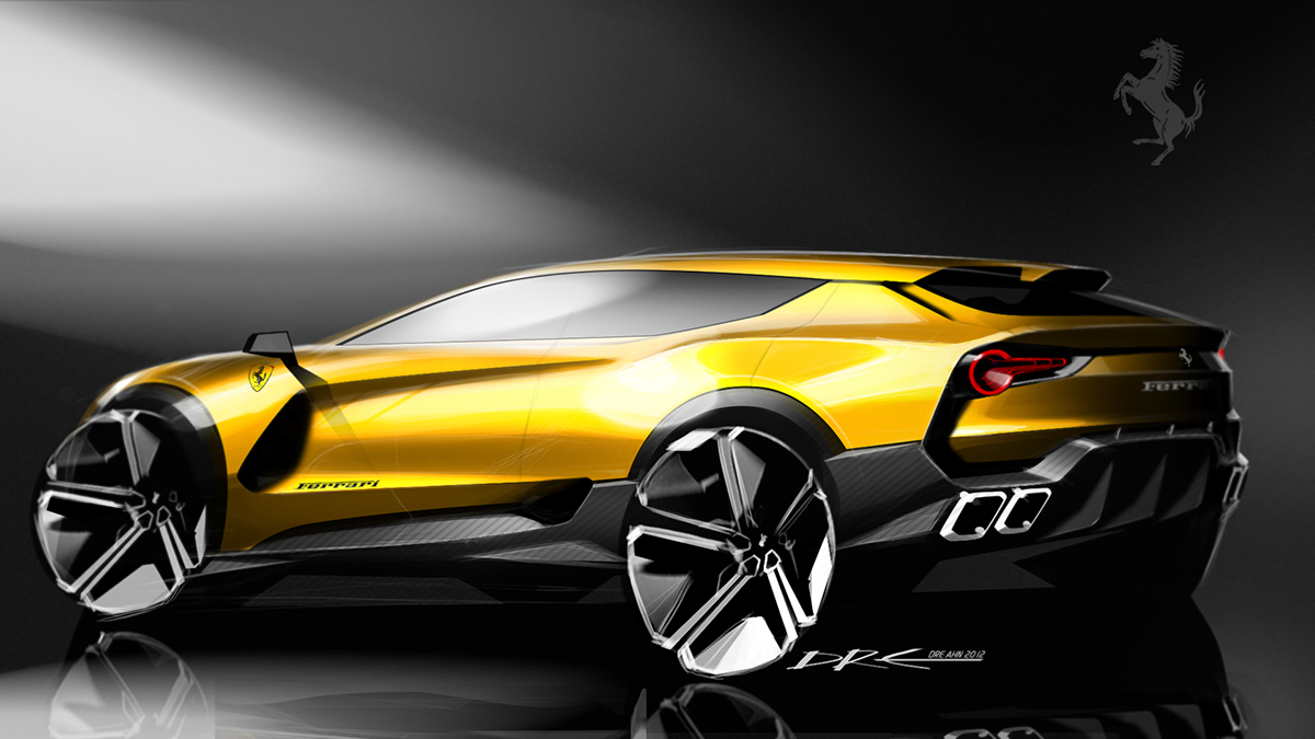 Ferrari Suv Concept 2012 On Behance