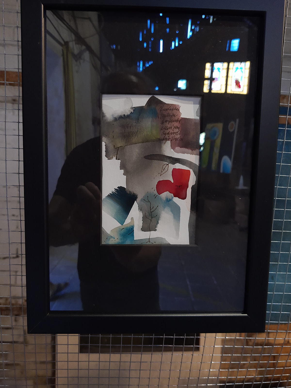 akryl art Exhibition  Glasswork Tasice industrial Michaela Bartonova obrazy Paintings visual art výstava