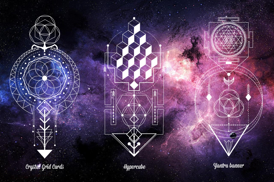 Sacred Geometry  Magic totem vol 2 on Behance