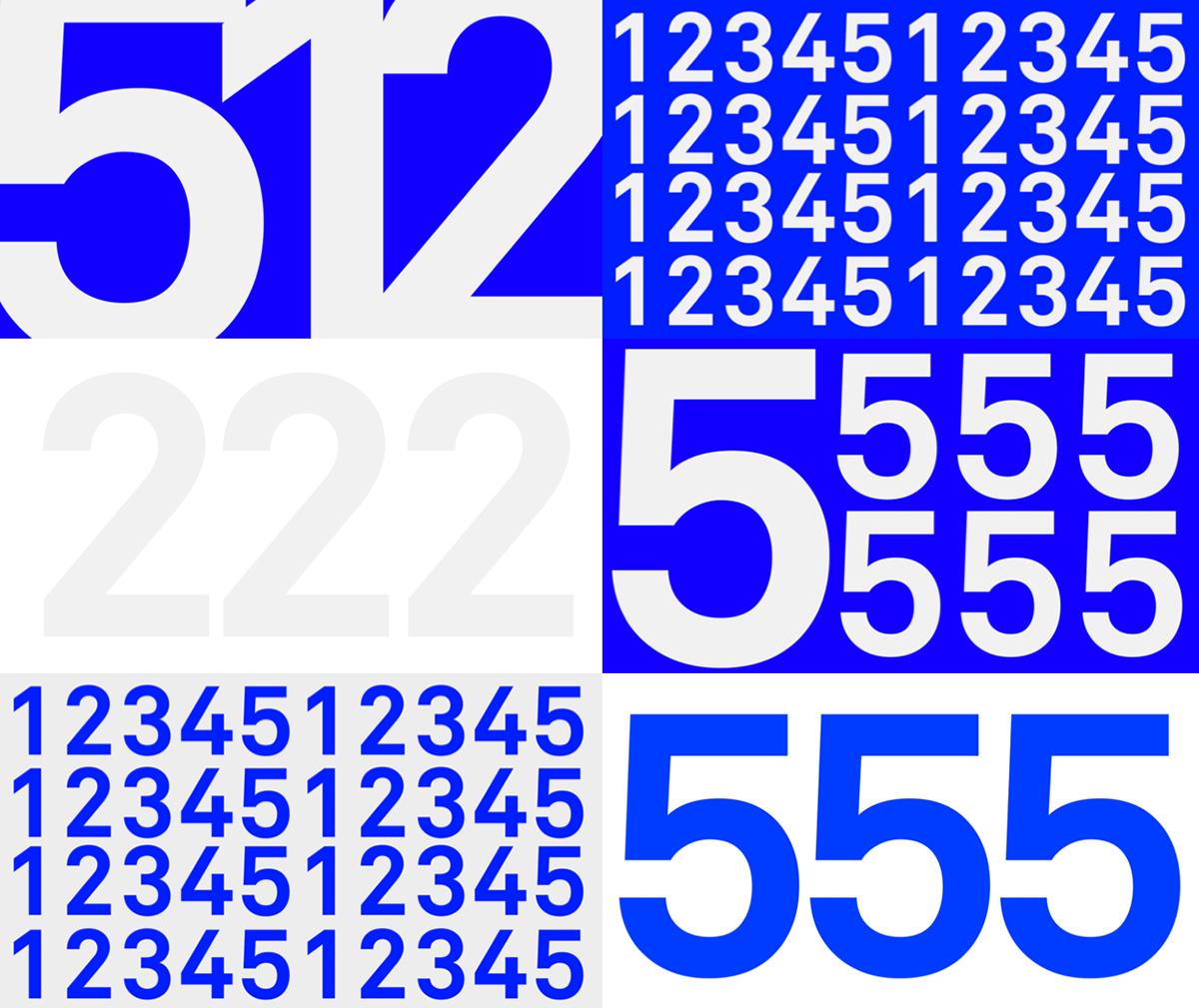 broadcast tv minimalistic motion design flat blue