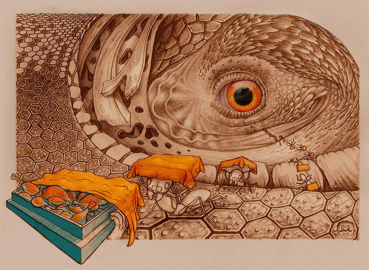 evolve artwork team egypt digital art ILLUSTRATION