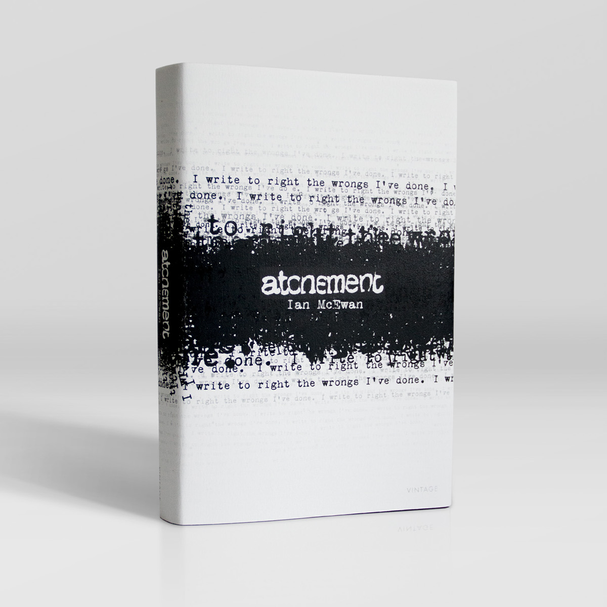 atonement book dust jacket on scad portfolios