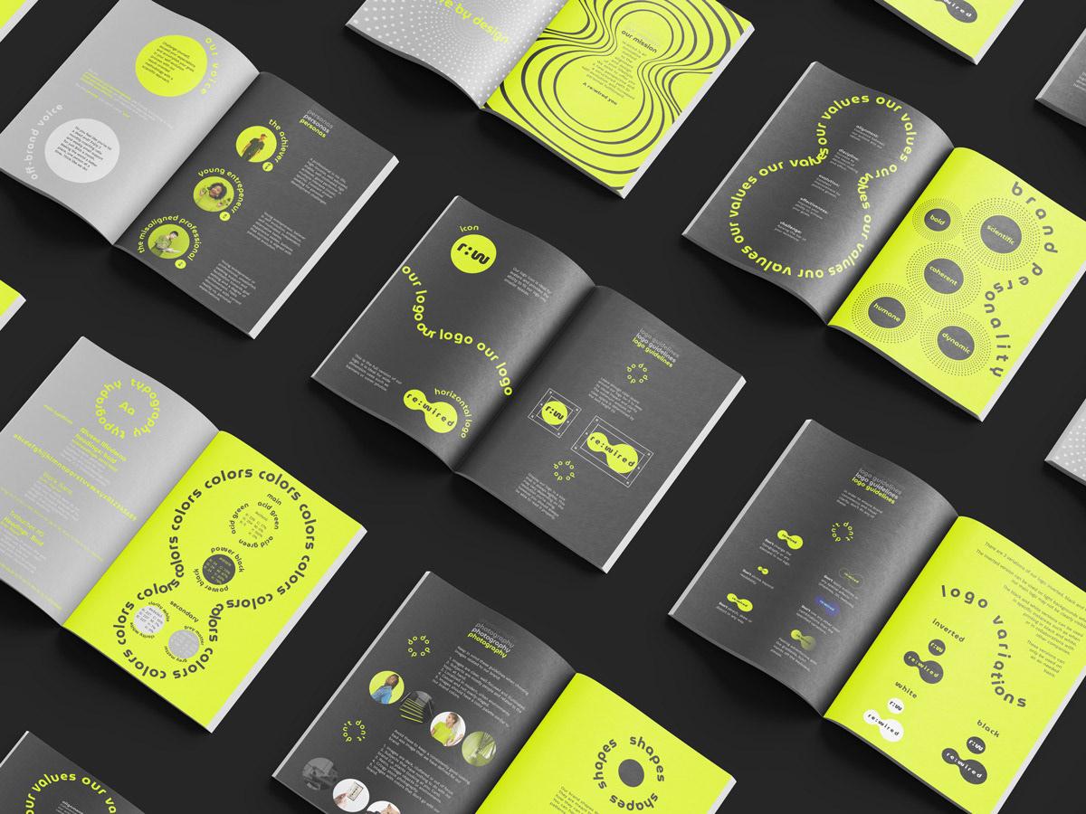 brand brand guidelines branding  design graphic design  visual identity Web Design