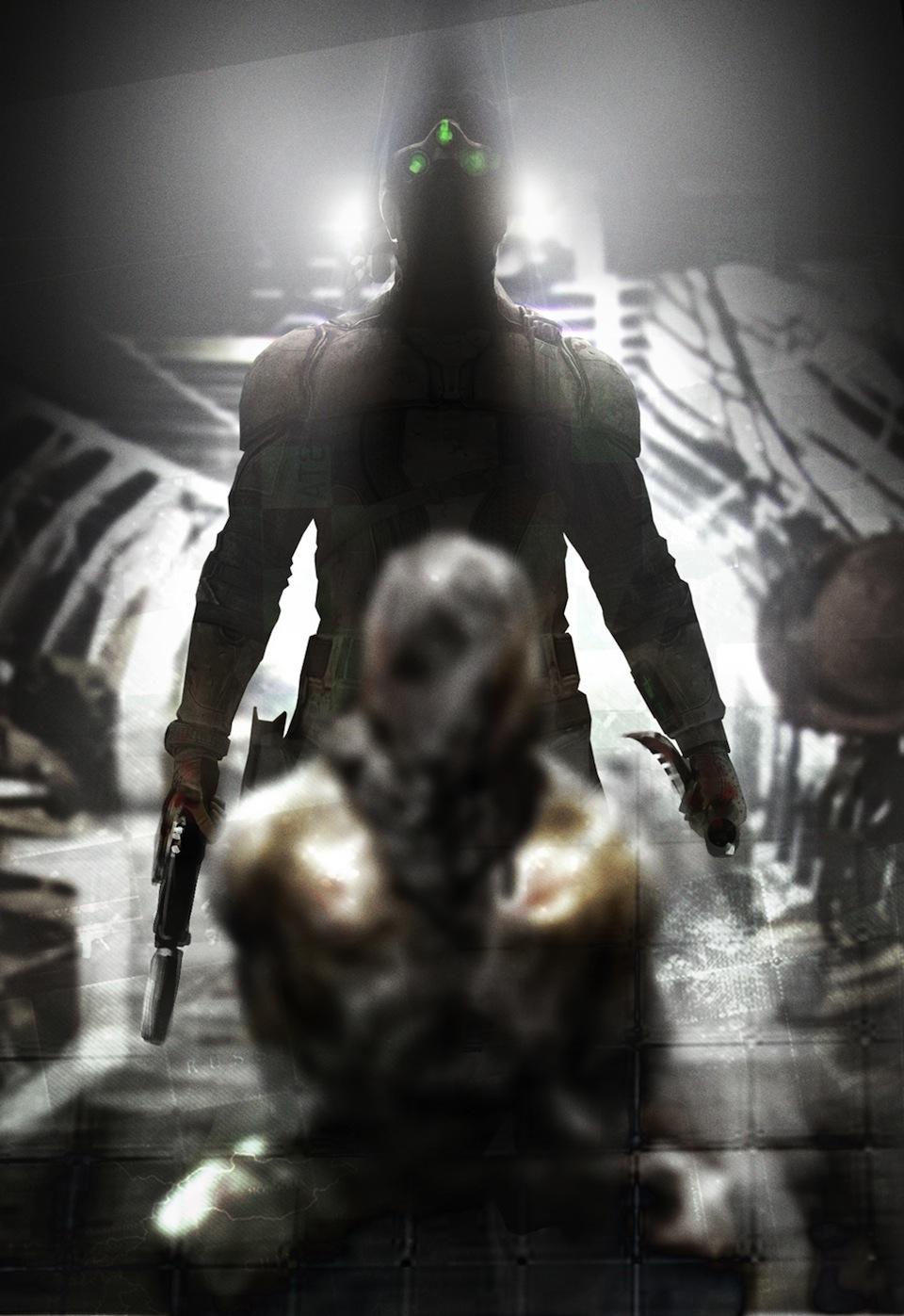 splinter cell Cover Art game Blacklist
