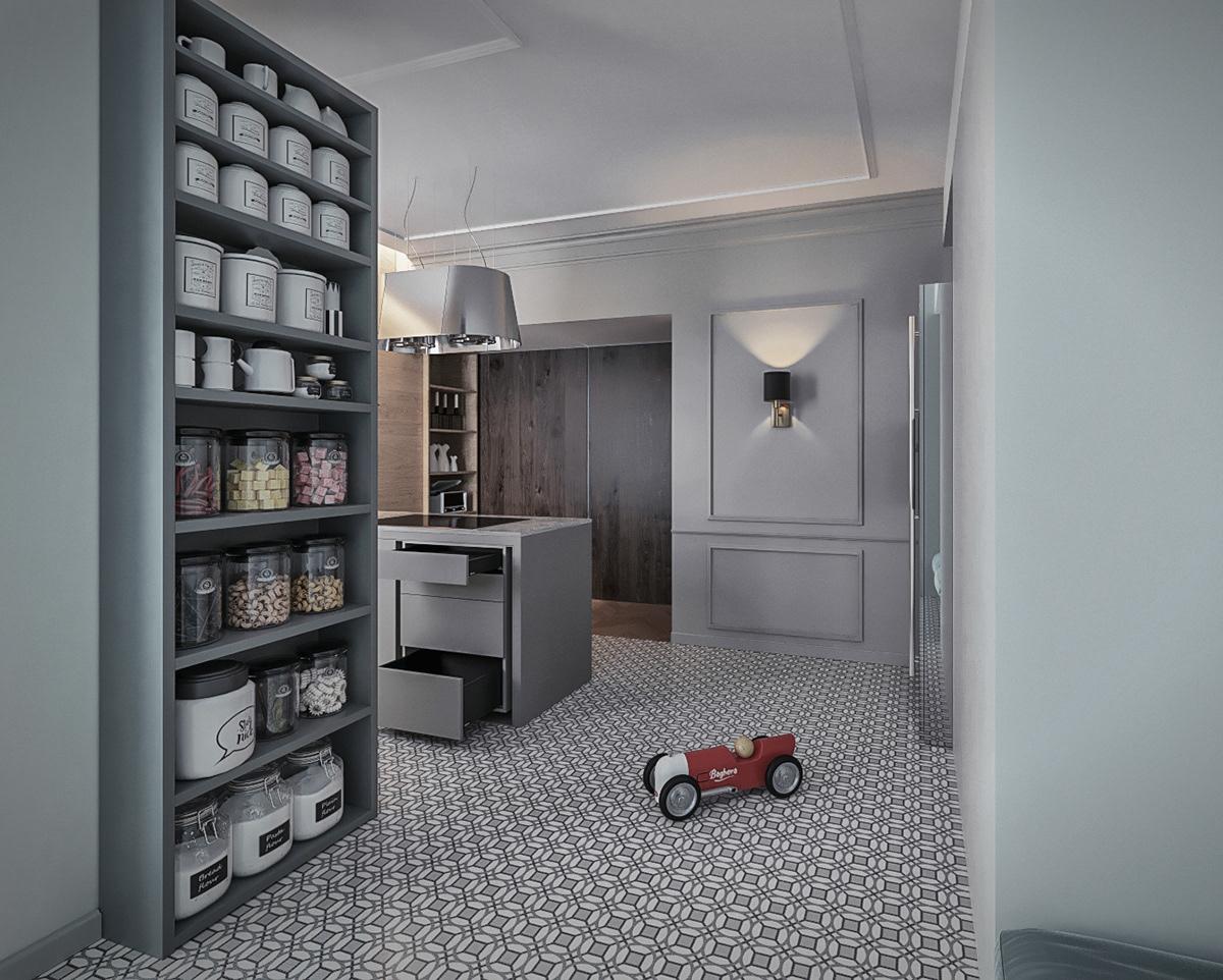 attico Lecco appartamento interiordesign boiserie ristrutturazione