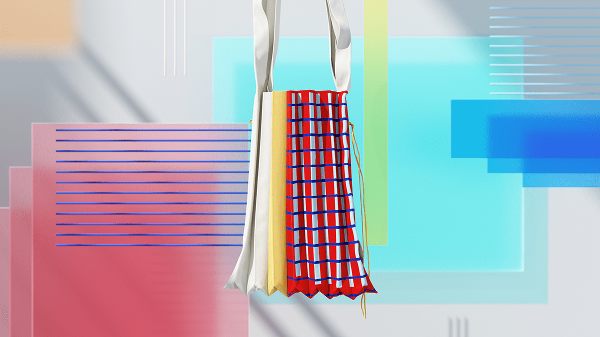 Image may contain: dress, skirt and handbag