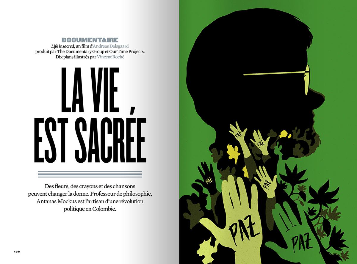 revueXXI life Documentary  presse edition peace colombia Antanas Mockus green magazine