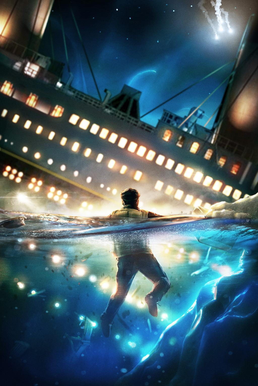 book book cover survivor titanic Pompeii scholastic non-fiction first-hand account Jim Eldridge Stephen Davies