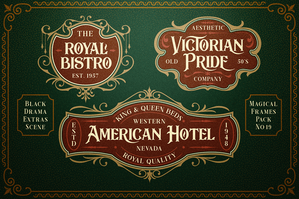 free antique old Fashion  font fonts Retro vintage Typeface Display