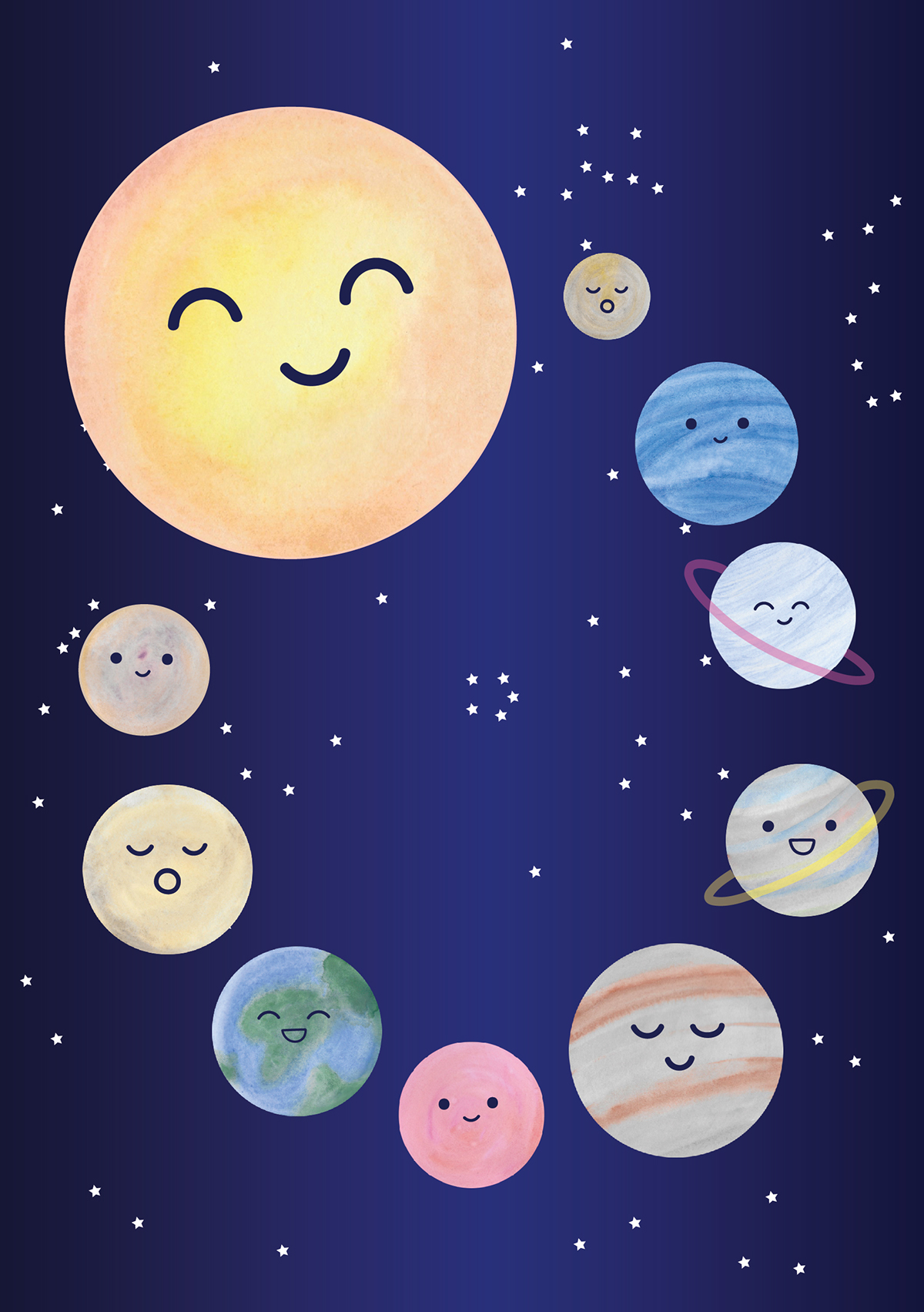 Happy Planets on Behance