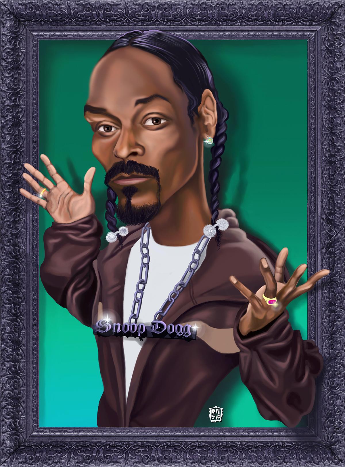 art digital painting ILLUSTRATION  hiphop black music digital 2D