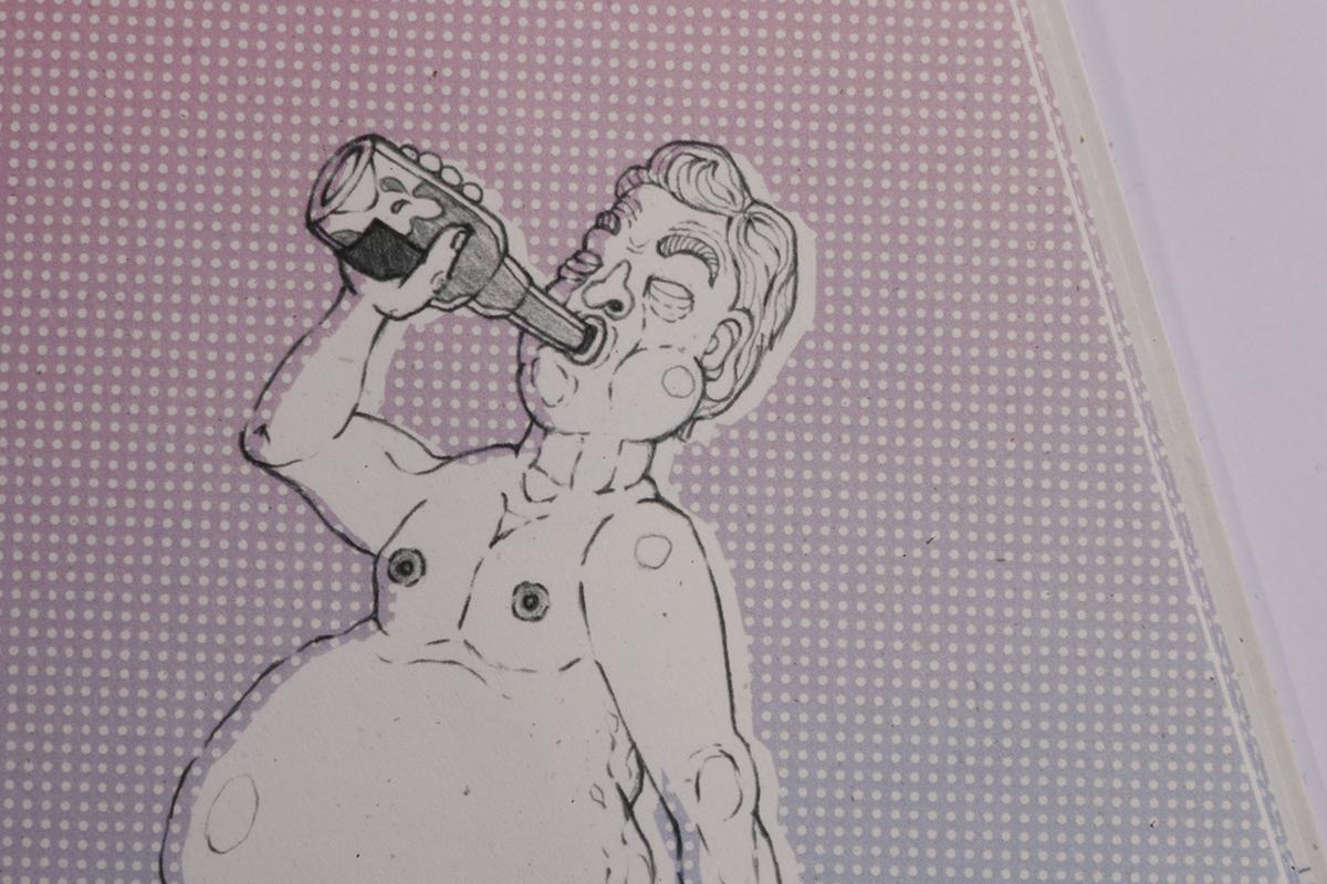 germans Deutschland deutsche deutsch germany ILLUSTRATION  DianaWiedmann german funny Zeichnung