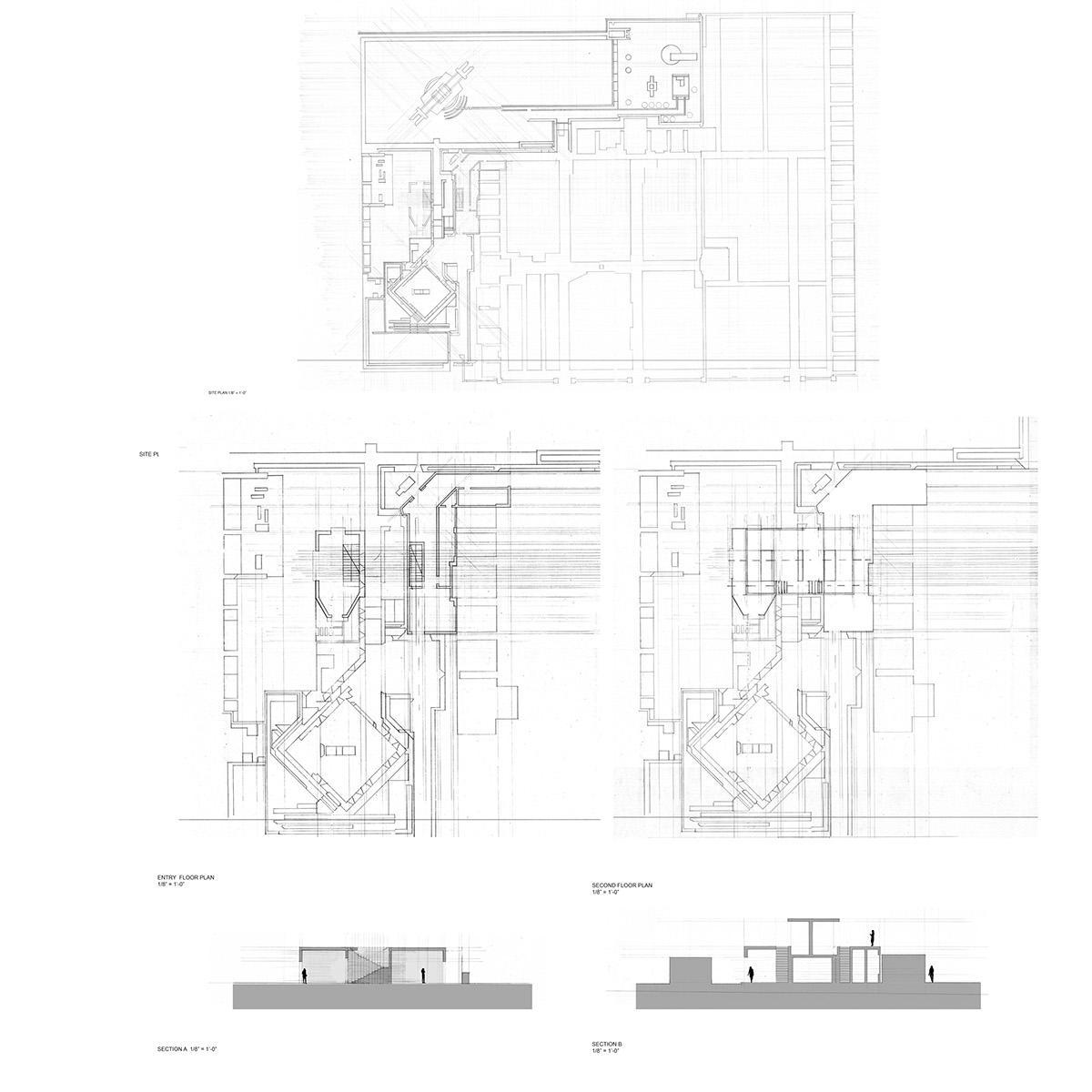 Brion cemetery study on behance - Brion design ...