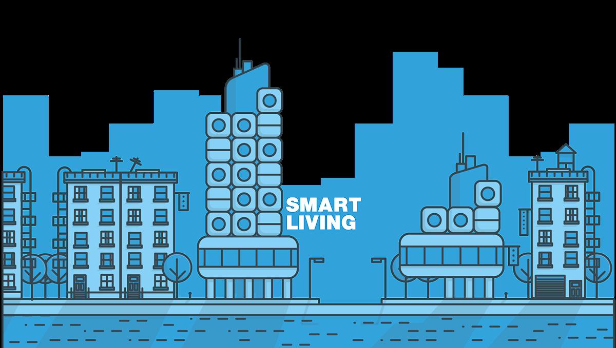 Adobe Portfolio Smart Living Nils Riesenberg living Commuter sharing flat appartment renting