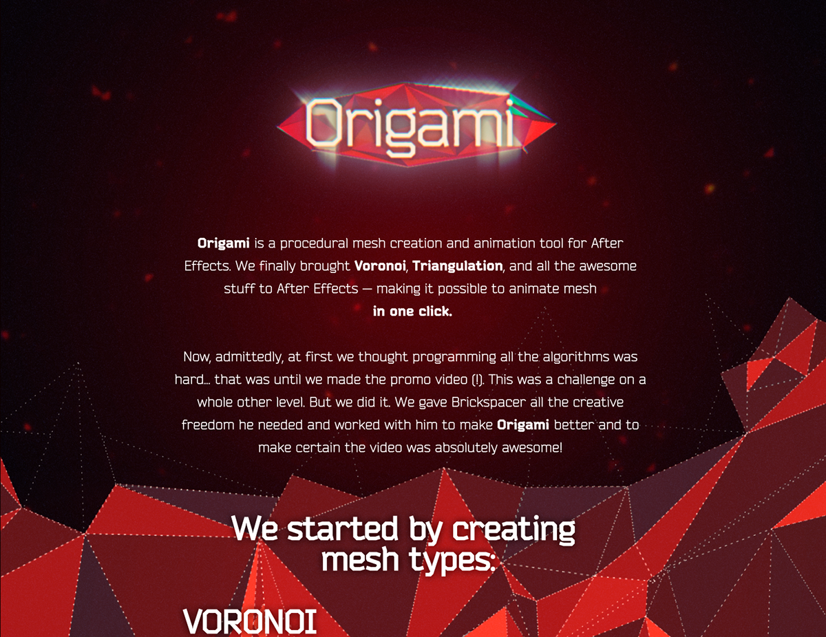 ORIGAMI | Script Trailer on Behance