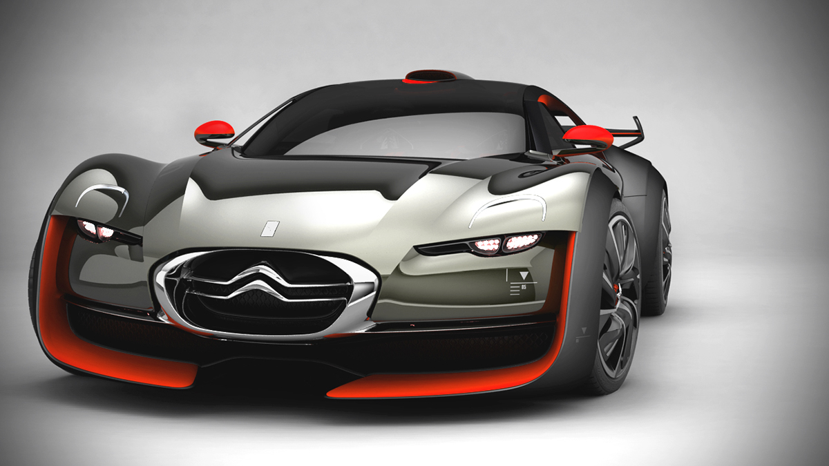 CITROEN SURVOLT CONCEPT CAR 2010 on Behance