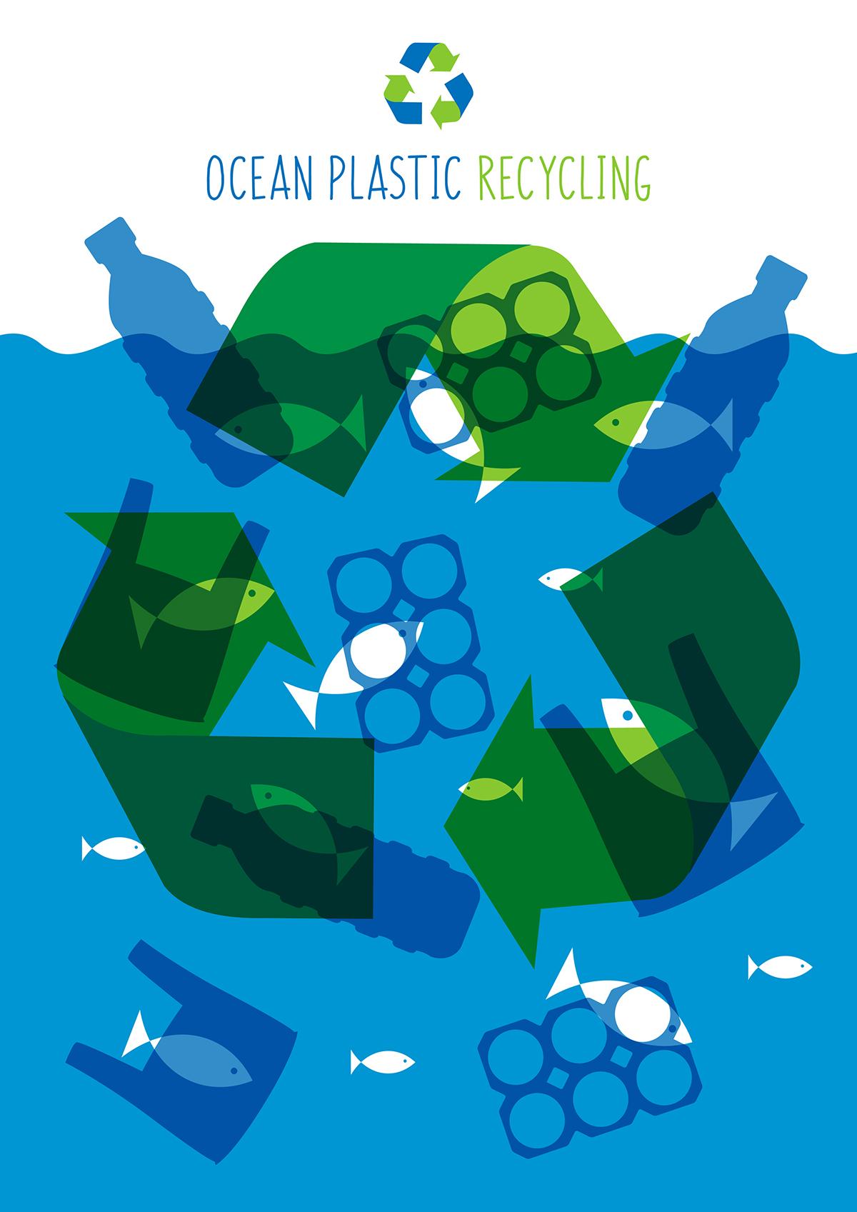 Ocean Plastic Recycling on Behance