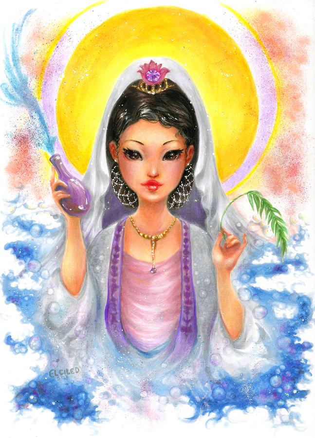 kuan yin Kwan Yin Bodhisattva markers Copic