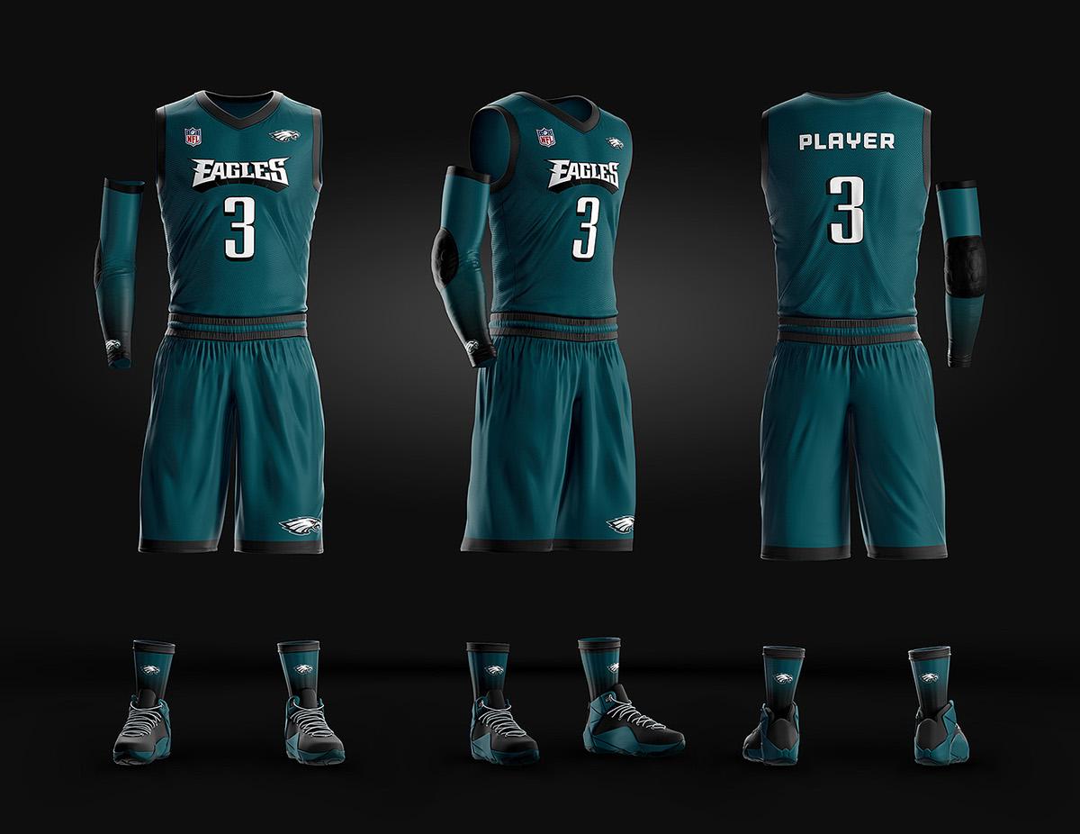basketball uniform jersey psd template on pantone canvas
