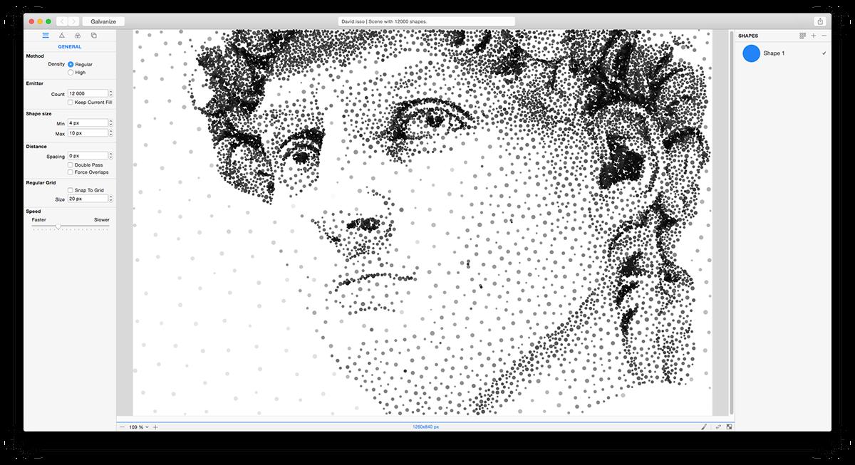 Shapeover ShapeoverArt art design LogicLeopard ImageStudioProductions VectorField galvanize app