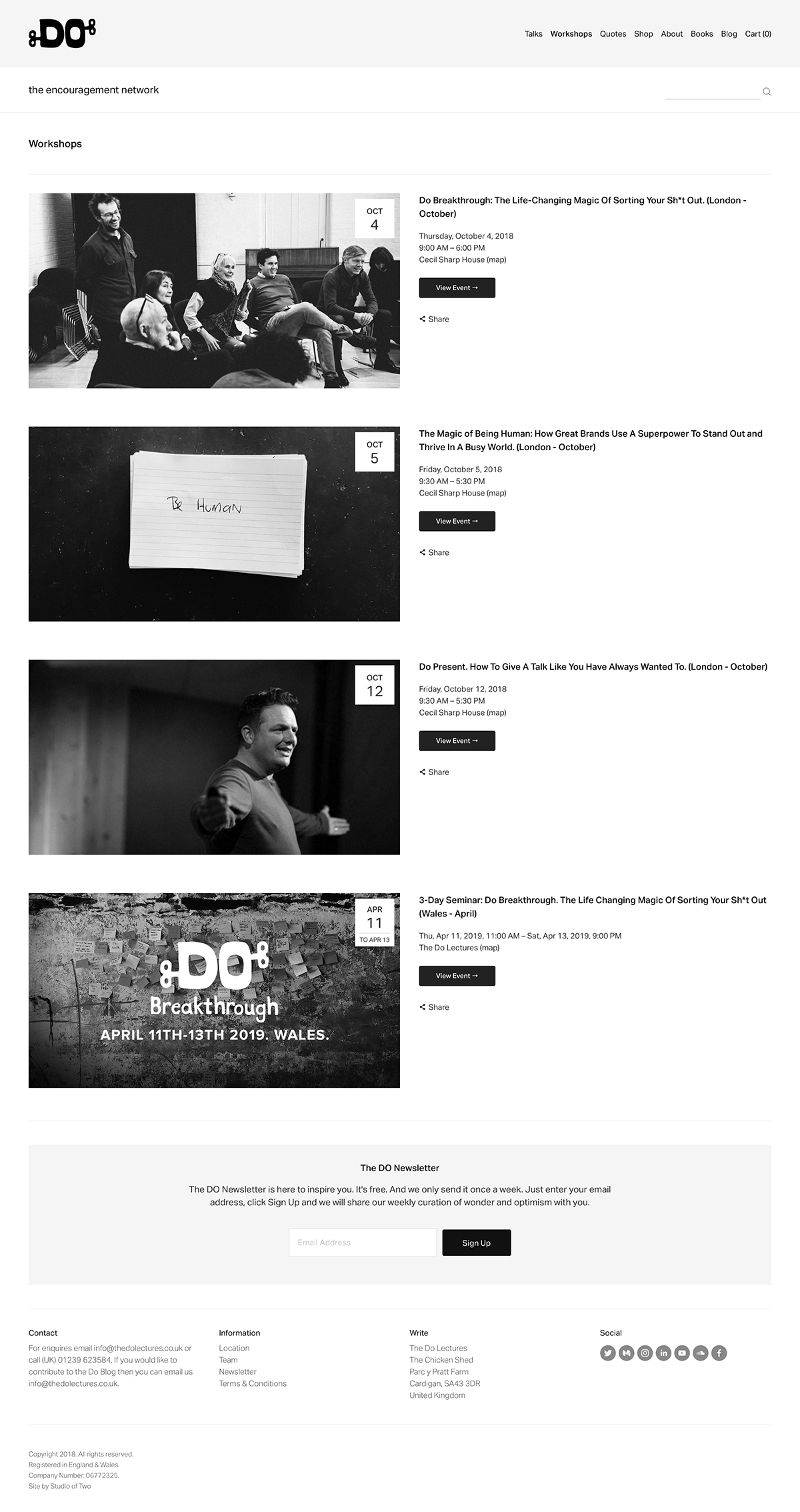 squarespace The Do Lectures David Hieatt Clare Hieatt talks inspiration grid based lectures The Printer's Son