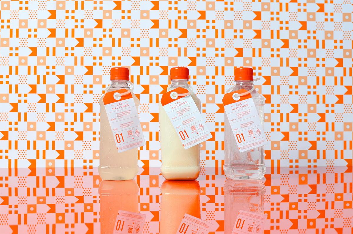 mexico monterrey restaurant pattern orange Signage