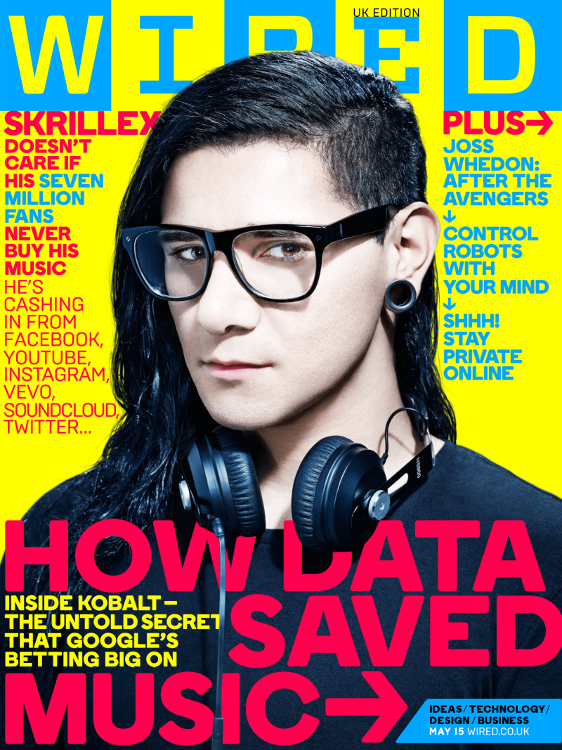 WIRED UK - How Data Saved Music on Behance