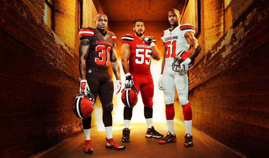 new style 607ad 56108 Cleveland Browns Rebrand on Behance